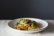 Broccoli Aglio e Olio with Gremolata Breadcrumbs