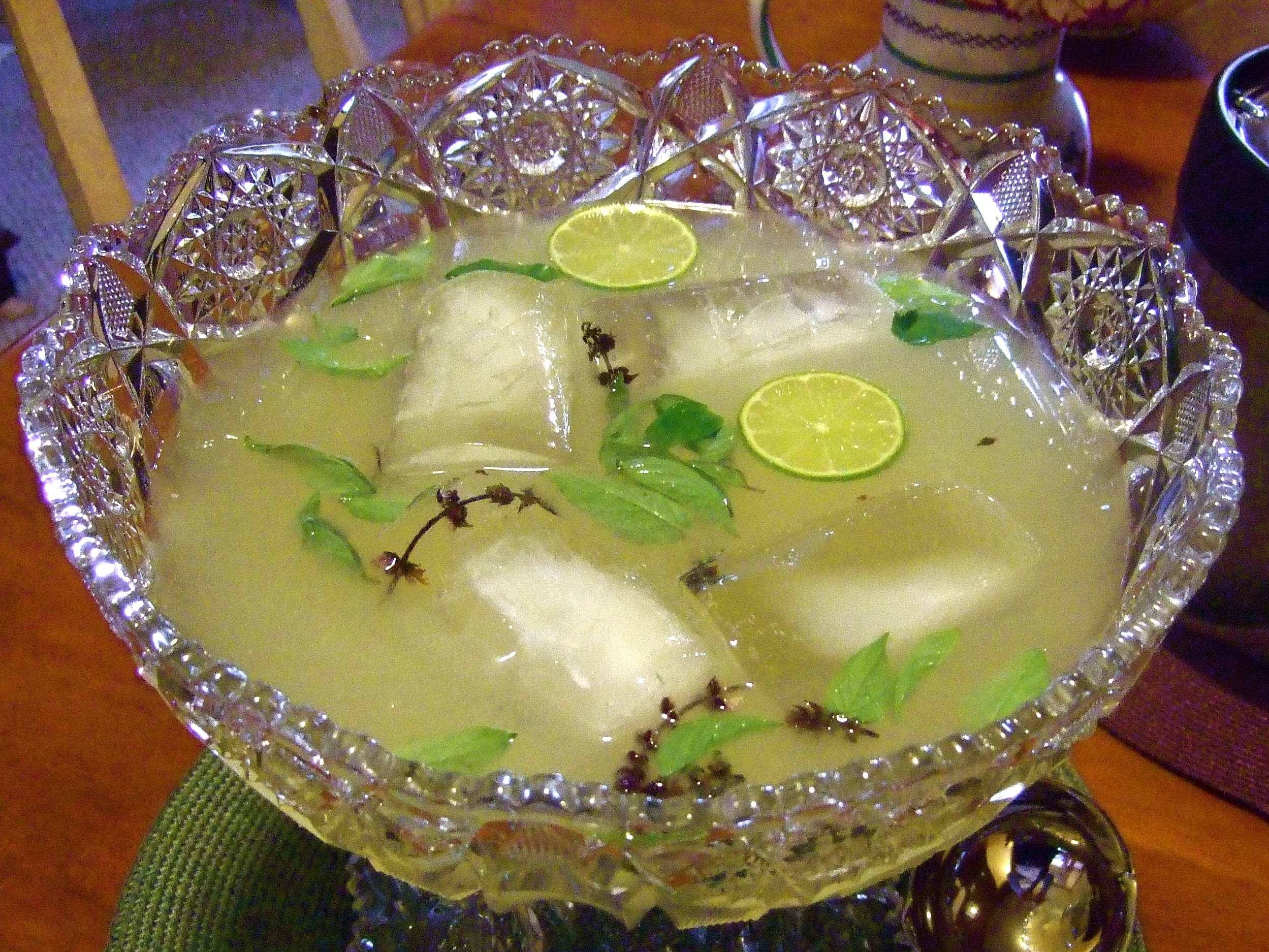 Thai Ginger Lime Cooler