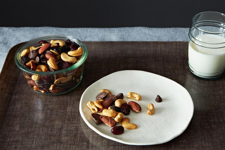 Trail Mix with Cherries and Chocolate