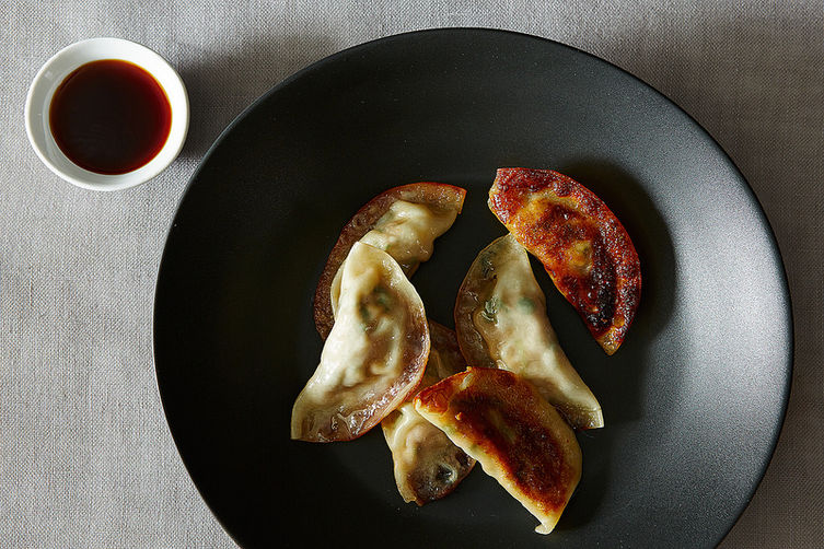 Pot stickers from Food52