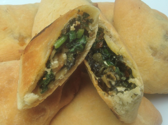Hand Held Syrian Spinach Pies