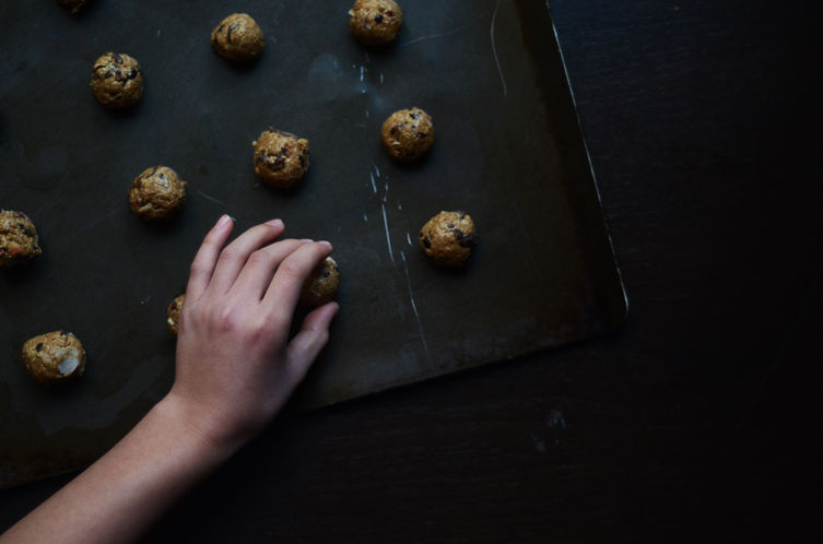 Olive Oil Oatmeal Cookies
