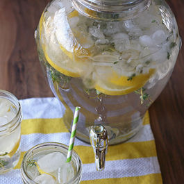 Lemon & Thyme Flavored Water