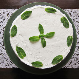 Green Pea Cake with Fresh Peppermint: A Delightfully Different Dessert