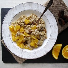 Apricot Orange Tahini Porridge