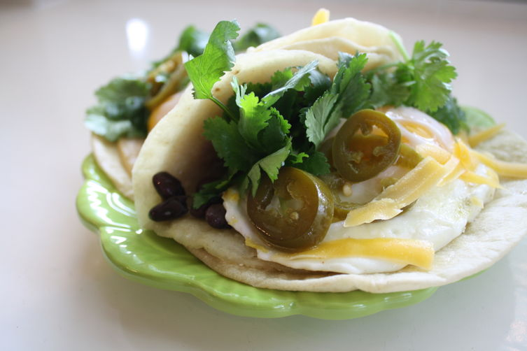 The Ultimate Fried Egg Breakfast Tacos