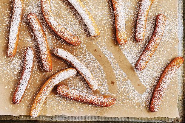 Breakfast Churros with Cinnamon Sugar