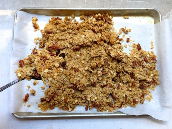 Salted Butter Pecan Granola