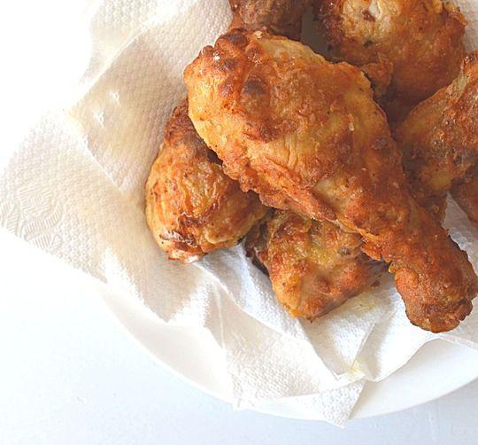 Easy Crispy Oven Fried Chicken