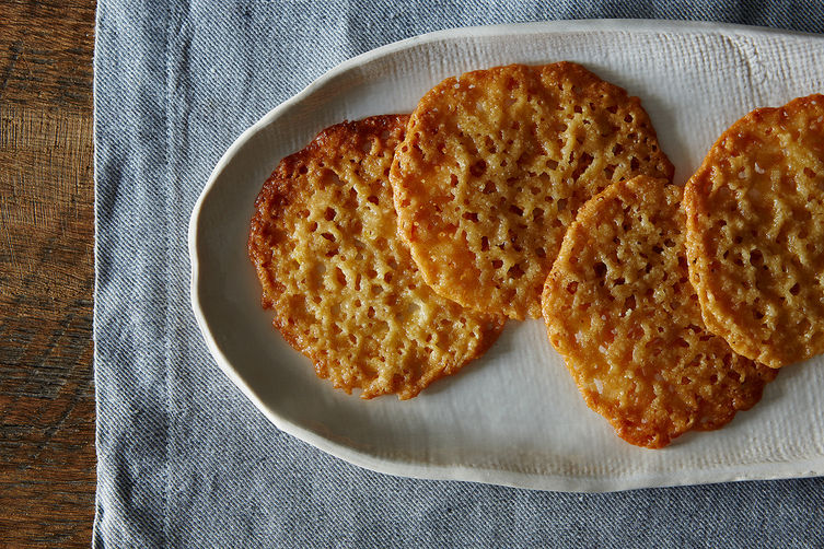 Buttery Lemony Lace Cookies Recipe on Food52
