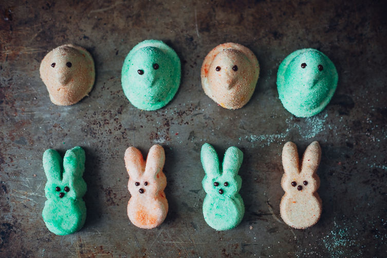 Homemade Peeps