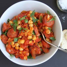 Chorizo and Chickpea Stew