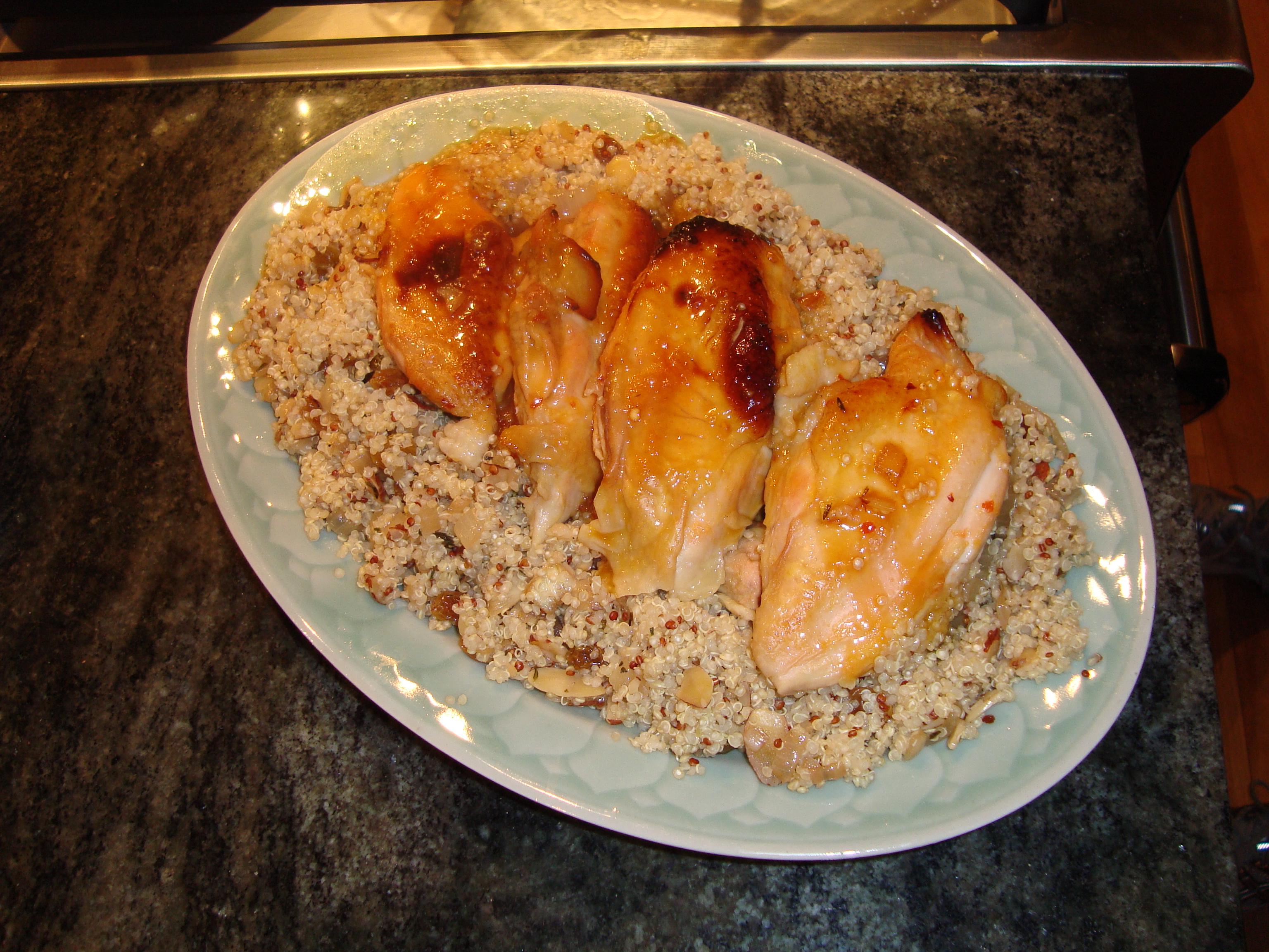 Baked Israeli Chicken in Sherried Citrus Juice