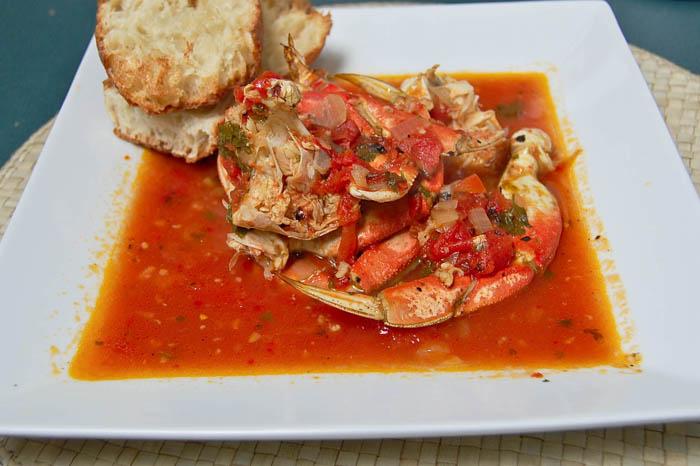 Cioppino Style Crab