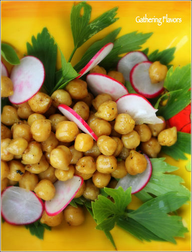 Spiced Chickpeas with Crispy Radishes and Fresh Herbs recipe on Food52 ...