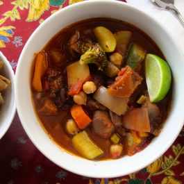 Cocoa-Chickpea Chili (Vegan)