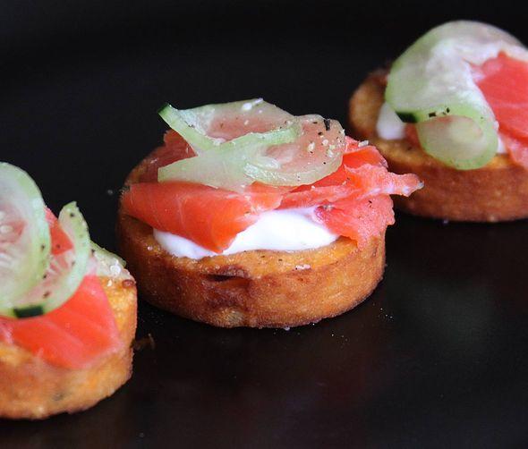 Sweet Potato Chickpea Panelle