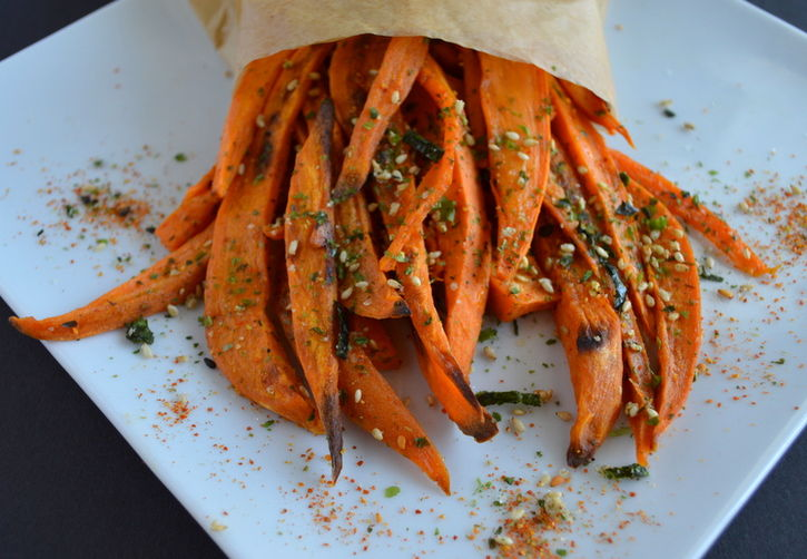 Japanese-Spiced Sweet Potato Fries