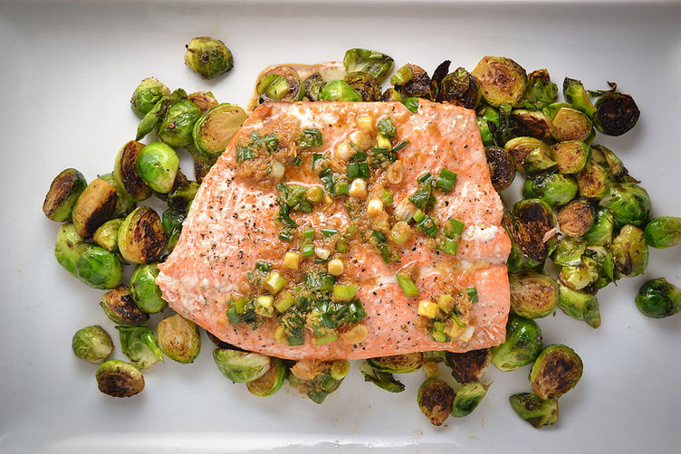 Ginger Scallion Salmon
