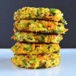 Vegetable & Cornmeal Fritters