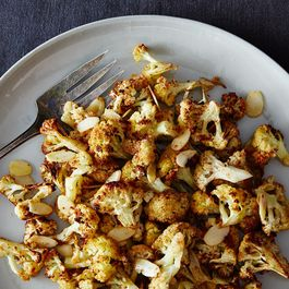 Roasted, Spiced, Almond-y Cauliflower