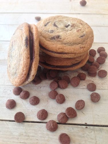 Spiced Double Chocolate Chip Biscuits