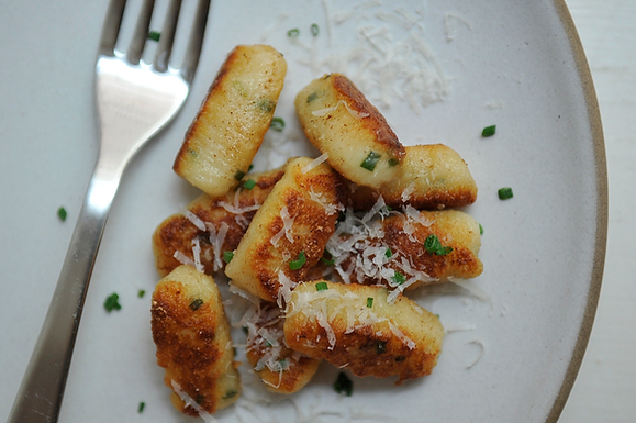 Ricotta and Chive Gnocchi from Food52