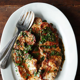 Veal Scallopine with Lemon & Parsley