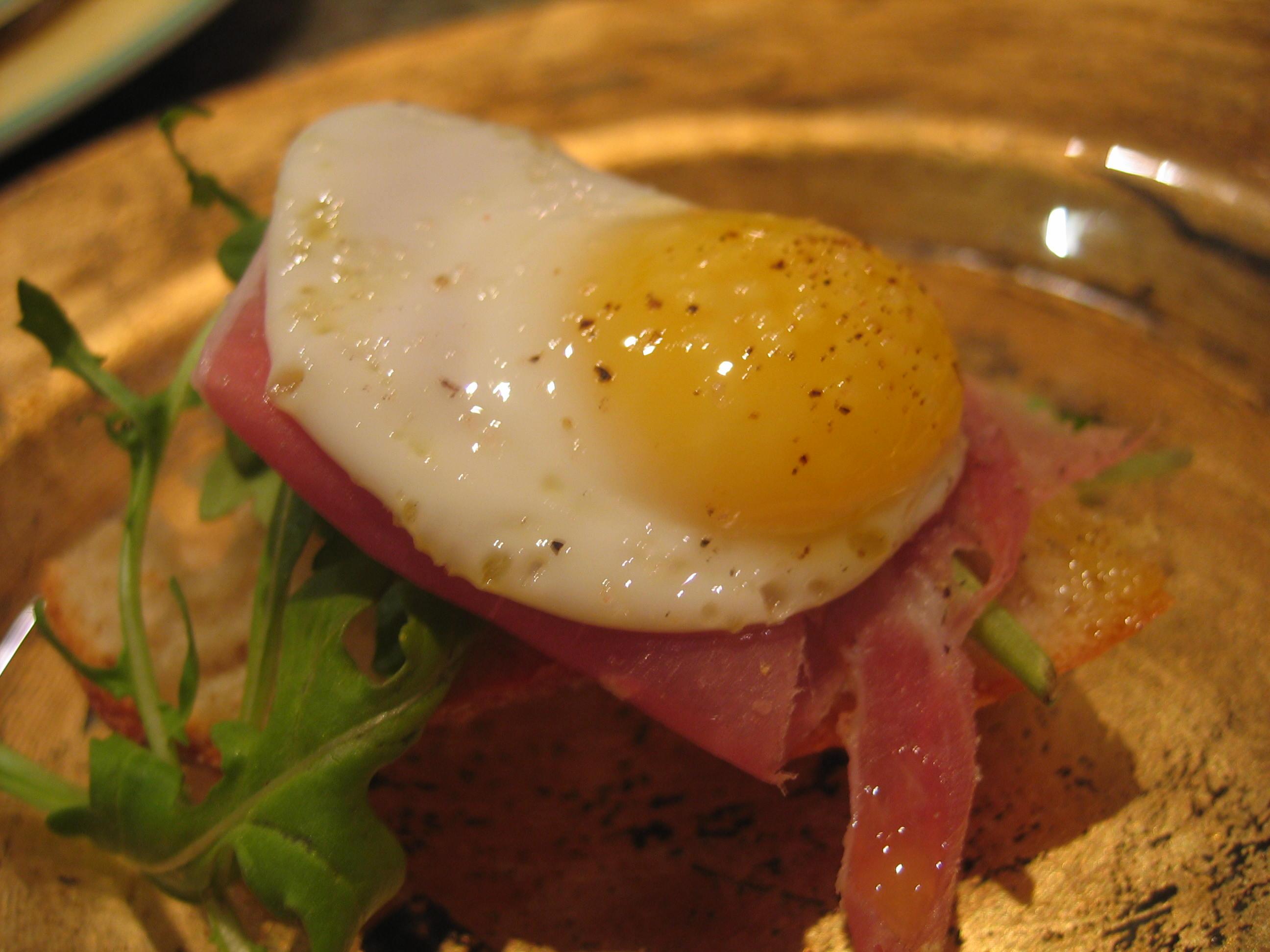 Baby Ham & Eggs