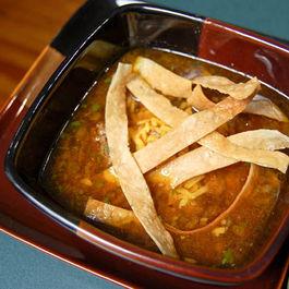 Poblano Meatball soup
