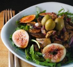 Fig_and_mushroom_salad