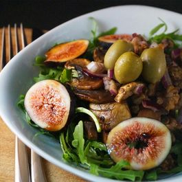 Fig_and_mushroom_salad