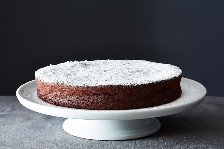 Flourless chocolate cake from Food52