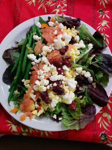 Chopped Salad with Preserved Lemon Vinaigrette recipe on ...
