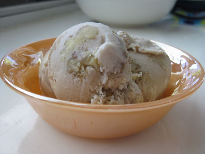 Maple Double Walnut Ice Cream