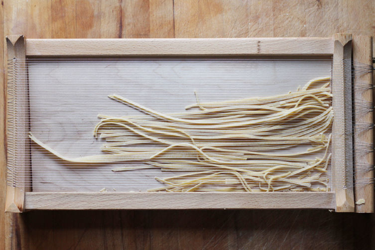 Spaghetti alla Chitarra with Classic Abruzzese Ragu