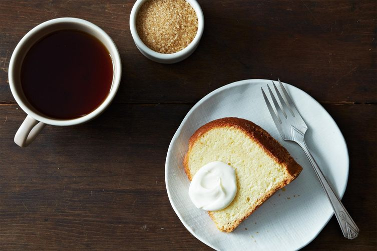 Cold Oven Pound Cake from Food52