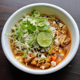 45 minute Chicken Pozole