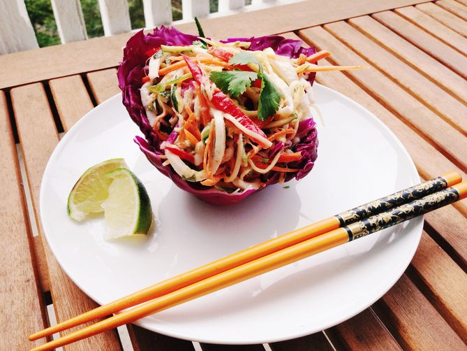 Raw Vegan Coconut Pad Thai