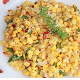 Simple Corn Sauté with a Kick