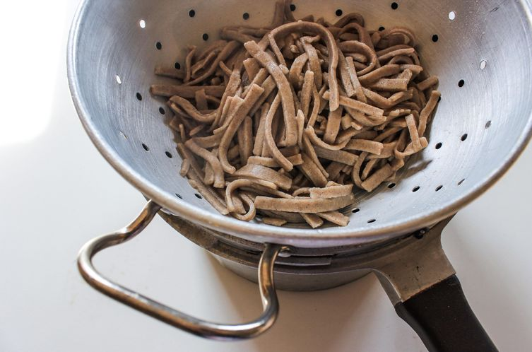 Homemade Wheat-free Soba Noodles