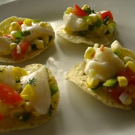 Sweet Corn and Scallop Ceviche