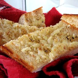 Super Garlic Parmesan Bread