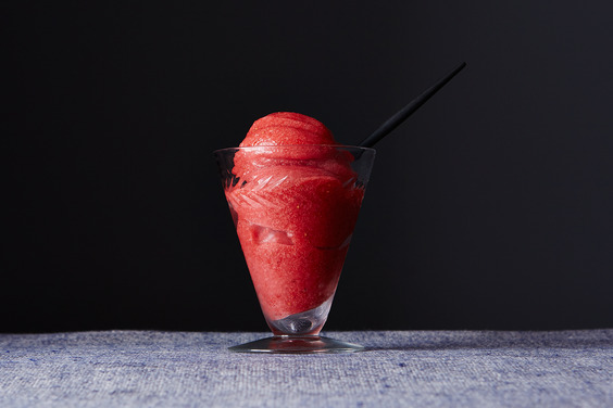 Sensational Strawberry Sorbet