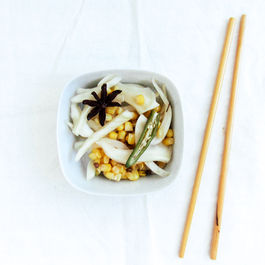 Pickled_corn_and_fennel