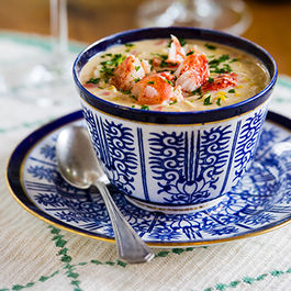 Lobster and Fresh Corn Chowder