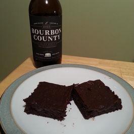 Bourbon Stout Brownies