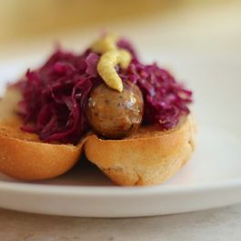 Quick Red Cabbage Sauerkraut