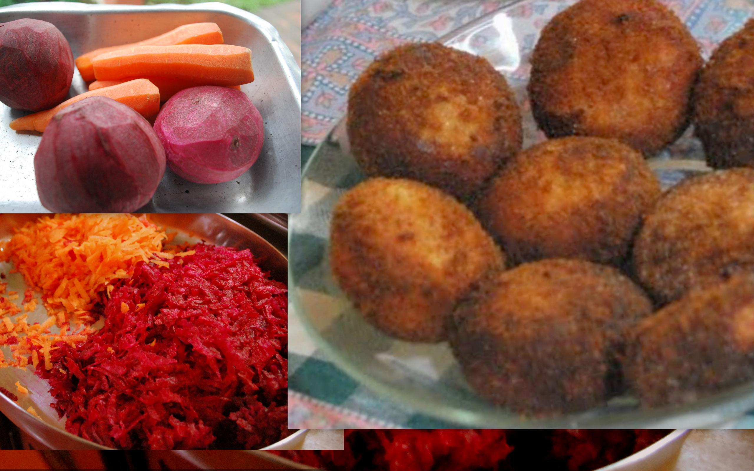 BEETROOT CROQUETTES