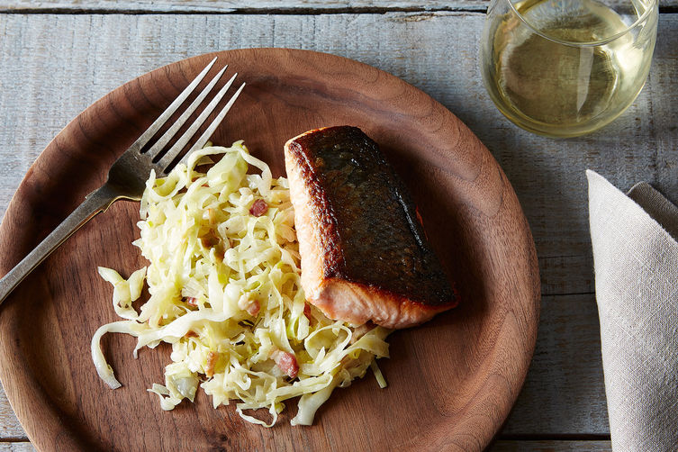 Smothered Salmon on Food52